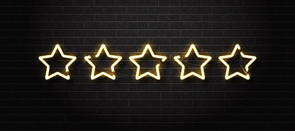 Fem stjerner